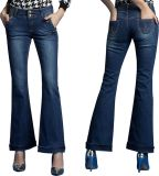 Women Fashion Bootcut Jeans (JC1128)