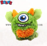 Wholesale Price Plush Monster Puppy Toy in Green Color with Squeaker Bosw1062/10cm