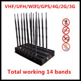 All in One Mobile Phone Jammer/ GPS Jammer/4G Jammer