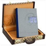 Custom Coin Collection Album with Gift Briefcase