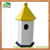New Designer Compact WPC Wood Bird Cage for Garden Decoration