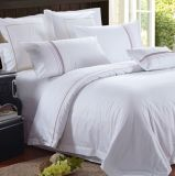 High Quality White Embroider Bedding Set