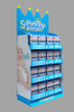 Cheap Price Customized Cardboard Tiers Display Stand for Tape Wholesale for Supermarket