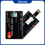 Alimoto Plastic Thin Name Card USB Flash Drive USB 2.0 8GB