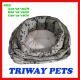 High Quaulity Cheap Snuggle Dog Cat Pet Beds (WY161074-3A/C)
