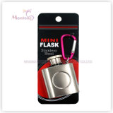 1 Ounce Liquor/Whisky Flask, Stainless Steel Mini Hip Flask