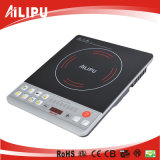Ailipu Brand Best Selling for Syria Market Low Price Pushbutton Induction Cooker 2000W (ALP-18B1)
