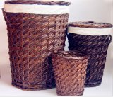 (BC-ST1094) High Quality Handmade Willow Laundry Basket