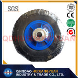 8'*2.50-4 Durable Elastic Flate Free PU Rubber Foam Wheel for Hand Trolley
