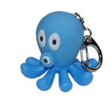 Hot Sale Plastic Cartoon Keychain Custom Color