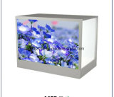 32inch Transparent LCD Touchscreen Display Showcase for Shopping Mall