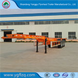 Cimc Wholesale Industrila Auto Truck Skeleton Chassis Semi Trailer