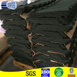 Color stone coated metal asphalt shingles