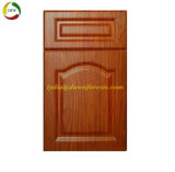 Shouguang Dawn Forest Wood Kitchen Cabinet Part PVC Faced MDF Cabinet Door