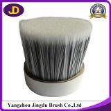White Mixed Black Bristle Pet Hollow Brush Filament