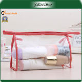 Hot Sell Quality Transparent Handmade Zippered Wash Bag
