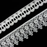 Flower Curve Trimming Lace, Lace Trim Polyester or Cotton Can Be Customized