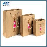Wholesale Promotional Tote Custom Printing Kraft Paper Bag