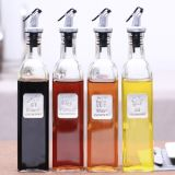 High-End Kitchenware Glass Bottle for Oil and Spices