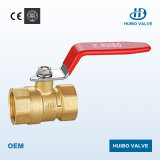 Female Thread Brass Ball Valve with Steel Handle