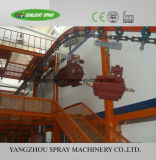 Overhead Continuous Power and Free Conveyor Coating Line