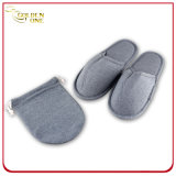 Promotional Gift Slipper Travel Set with Slipper and Bag