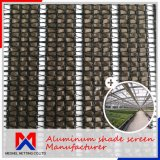 80% Shade Rate Aluminum Curtain Shade Screen Cloth Net for Greenhouse