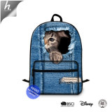 Cat Print Children School Backpack Wholesale Teenager Girls Computer Back Pack