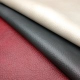 Wholesale Coated Leather Litchi Grain Embossed Synthetic PU PVC Leather for Bag Sofa Chair Furniture -Ug803
