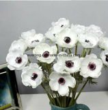 Decoration Faux Succulent Vertical Garden PU Artificial Flowers Hot Sale High Hand-Feeling Fake Flowers Anemone Flowers