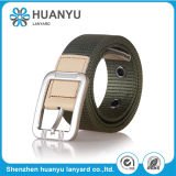 Custom Wholesale Army Green Nylon Woven Belt for Man and Woman