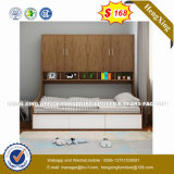 Wholesale Cheap Chinese Wood Double Bed Design Furniture Set (HX-8NR1004)