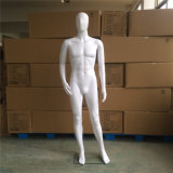 Hotselling Cheap Skin-White Male Mannequin with Base Standing