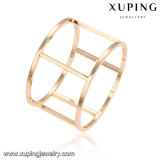 51665 Promotional Fashion High Quality Special Shape Saudi Gold Bangle Jewelry for Women