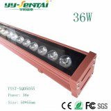 36W Customized Outdoor LED Wallwasher Light.