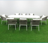 Rope Woven Dining Table and Chair for Restaurant