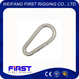 Straight Snap Hook Form B Electric Galvanizing
