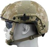 Aramid Kevlar or Twaron Fiber or PE Material and Below 1.50 Kgs/PC Light Weight Fast Ballisitc Helmet