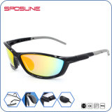 UV Protection Full Frame Grey Lens Ultra-Light Polarized Running Sun Glasses