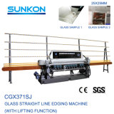 Great Quality 11 Spindles Glass Beveling Machine with Lifting Function for Smaller Glass (CGX371SJ)
