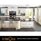 Factory Prices New Wood kitchen Cupboards Cabinet Maker Custom Made Prices TV-0237
