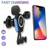 2018 OEM Hot Selling Fast Qi Car Wireless Charger N6 Fast Charging for Smartphone