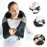 Heating Neck and Shoulder Kneading Shiatsu Massager