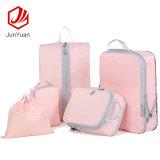 5 PCS Custom colorful Travel Bag Set Travel Luggage Bag Packing Cube