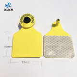 Male and Female Same Size 3m Reflective Material RFID Animal Ear Tag with Icar
