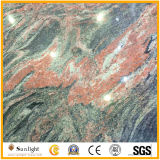Hot Sale Polished Multicolor Red Granite for Flooring, Wall Tiles
