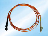 LC/Upc to Sc/APC Singlemode or Multimode Customized Optic Equipment Fiber Optic Patch Cord