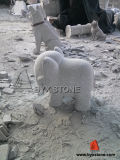 Little Animal Elephant Granite Stone Statue/Sculpture
