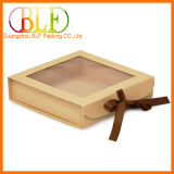 New Design Paper Gift Box with PVC Window
