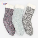 Winter Indoor Thermal Fluffy Fleece Women Fuzzy Cozy Slipper Socks